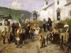 Induno La partenza dei coscritti nel 1866