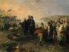 Induno L'imbarco a Genova del generale Giuseppe Garibaldi