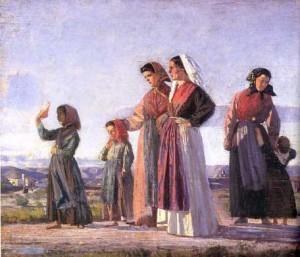 C. Banti Ritorno dalla messa