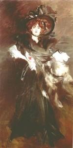 G. Boldini Mademoiselle Lantheleme