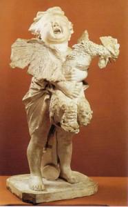 A. Cecioni Bambino con gallo
