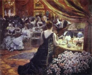 G. De Nittis Salotto della Principessa Matilde