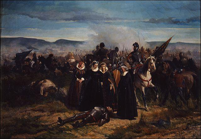 G. Fattori Maria Stuarda al campo di Crookstone
