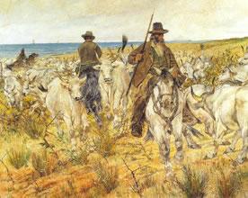 G. Fattori Bestiame al pascolo