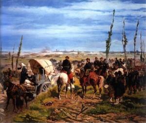 G.Fattori Il campo italiano dopo la battaglia di Magenta