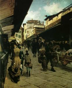 T. Signorini Ponte Vecchio a Firenze