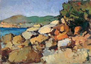 G. Bartolana Sulla spiaggia