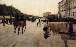 L. Gioli Via del passeggio a Livorno