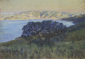 L. Lloyd L'addio del sole nel Golfo di Procchio