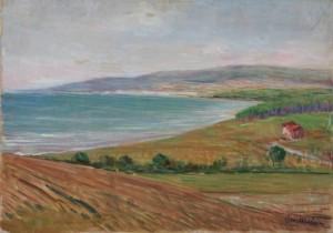 G. Malesci Panorama su Follonica