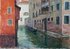 G. Malesci Un canale a Venezia
