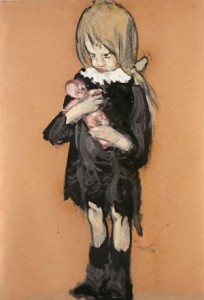 L. Viani La Befana della bambina povera