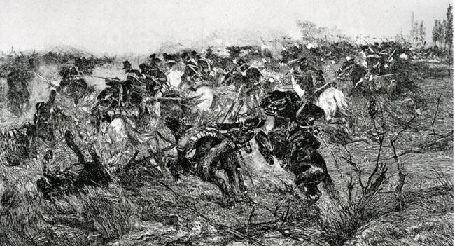 G. Fattori Carica di cavalleria