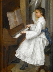 A. Cecioni, La giovane pianista